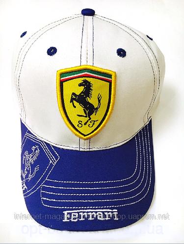 Бейсболка мужская  Ferrari