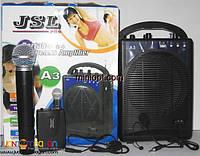 Радиосистема JSL A3 (VHF, 1 микрофон, 1 петличка, 1 гарнитура)