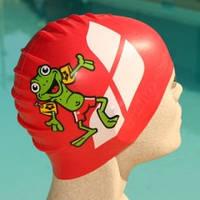 Шапка для плавания детская Арена  лягушка силикон