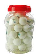 Мячи для настольного тенниса Finals, 40 mm, 60 шт., в банке.
