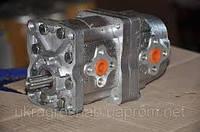 Насос шестиренчатый сдвоенный (спаренный) НШ-10-10