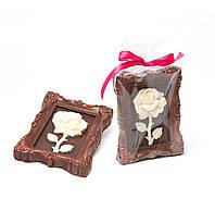 Сладкий подарок жене на 8 Марта девушке. Цветок из шоколада
