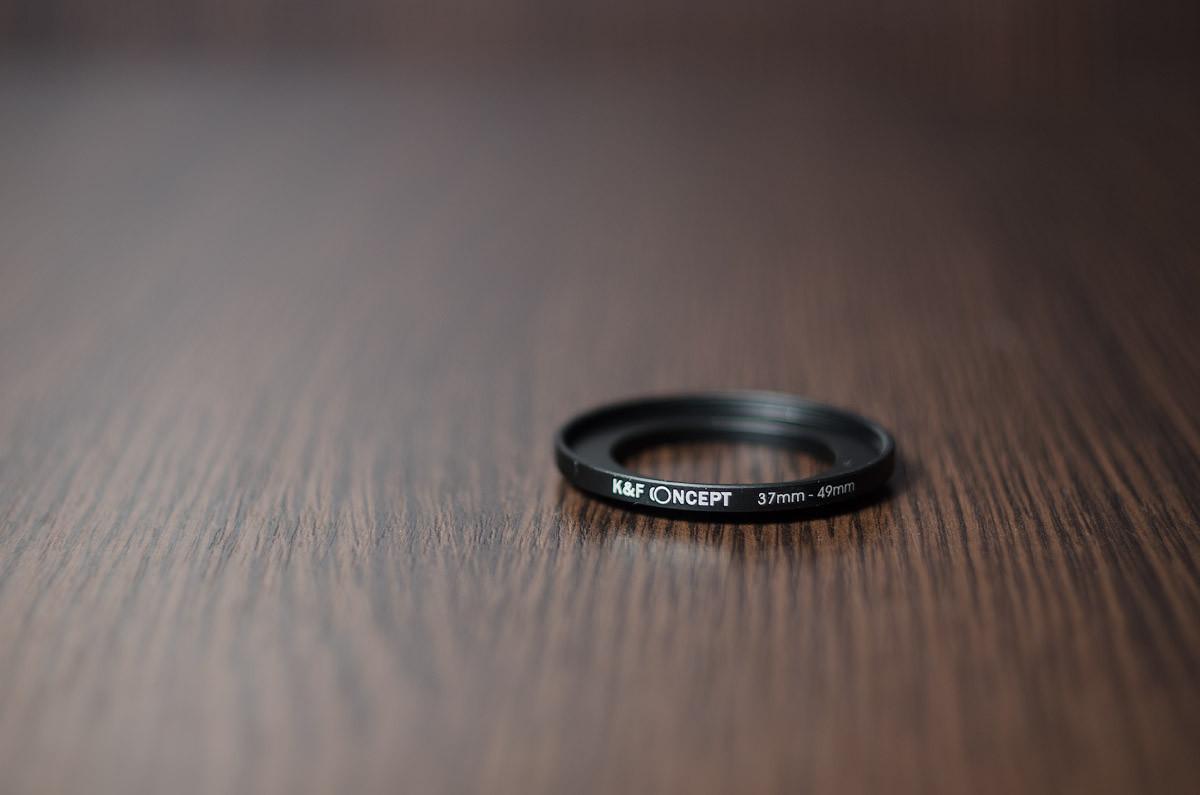 Переходное кольцо, повышающее (STEP UP) 37мм - 49мм (K&F CONCEPT)