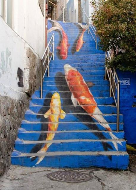 ЗD граффити, рисунки