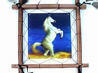 Ловец снов Конь на дыбах голограмма 40 см