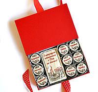 Подарки женщине на день рождение. Шоколадный набор конфет с пожеланиями, фото 1