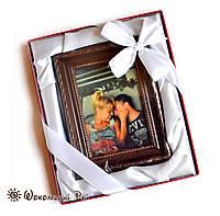 Подарок коллеге на день рождение. Портрет из шоколада под заказ