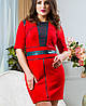 Платье замша | Вассаби lzn, фото 4