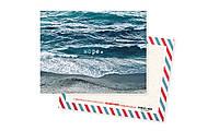 """Дизайнерская мини-открытка """"Море"""""""