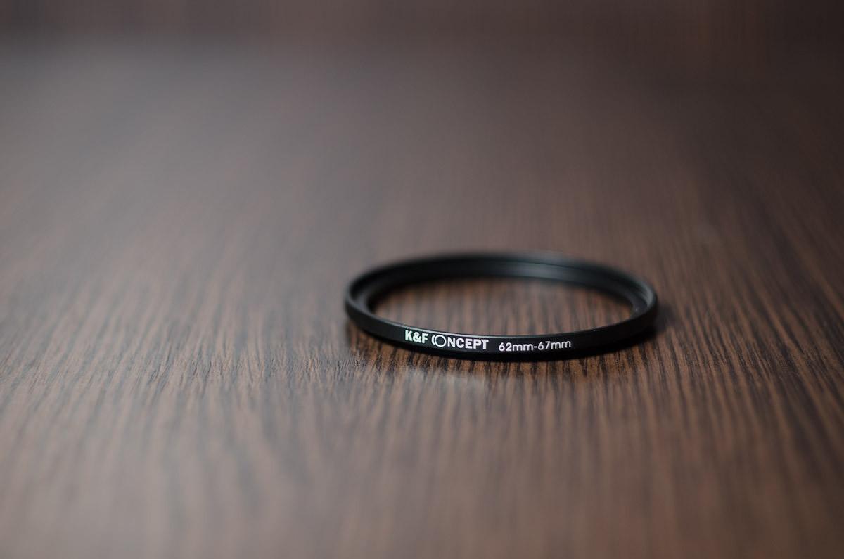 Переходное кольцо, повышающее (STEP UP) 62мм - 67мм (K&F CONCEPT)