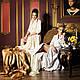 Длинный махровый халат MADONNA кремовый р. M., фото 2
