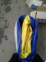 Тент Газель (стандартный L=3.17м) новый образец с тросом синий (производство Бояре,Россия)