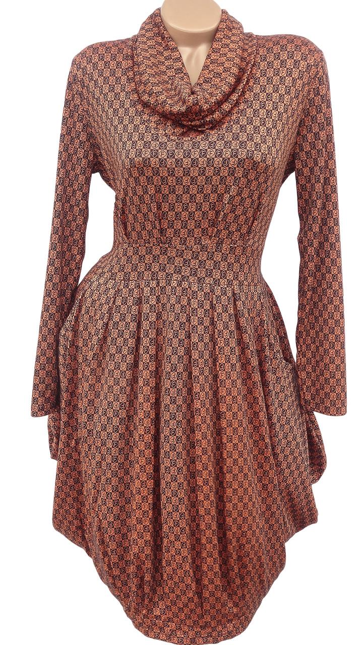 Оригинальное женское платье (50-56)