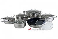 Набор посуды Kamille KM4007SMR