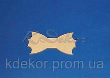 Бабочка-галстук №13 заготовка для декора