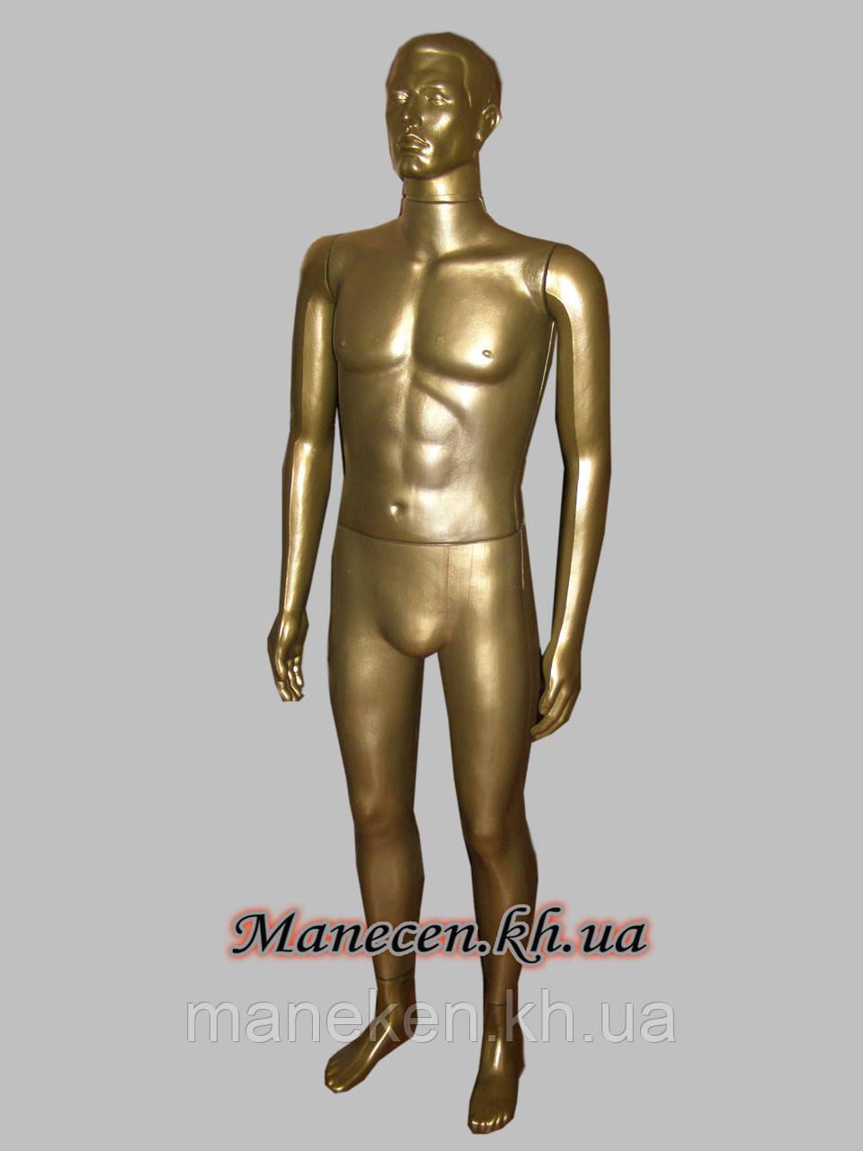 Манекен в полный рост мужской Сен- бронзовый
