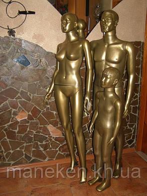 Манекен в полный рост мужской Сен- бронзовый, фото 2
