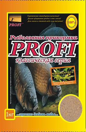 Прикормка PROFI Карп-Карась Ваниль, фото 2