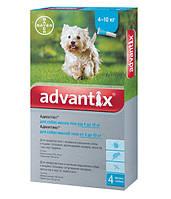 Bayer Адвантикс капли для собак 4 - 10 кг.