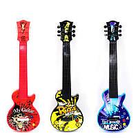 Гитара 841-2-841-13-841-12-841-11 (48) 3 вида, музыкальные функции, работает от батареек,