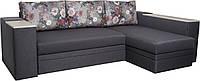 Угловой диван Сигма люкс с мини баром и нишей, фото 1
