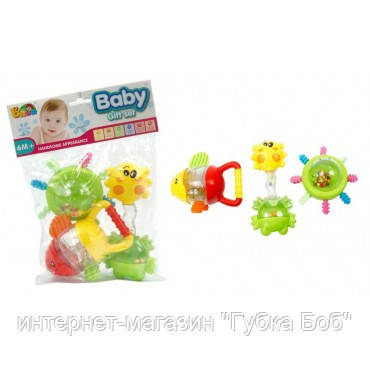 Набор уникальных погремушек для малышей