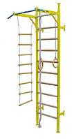 Шведская стенка детская Boxer: кольца, веревочная лестница, канат
