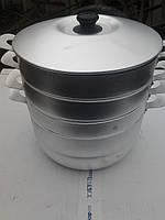 Мантоварка Калитва 6 литров 3 сетки (алюминий)