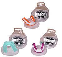 Капа одночелюстная силиконовая Dragon Mouthguard для единоборств: 5 цветов