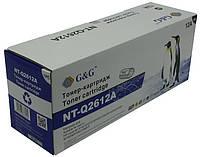 Аналог картриджа q2612a для hp LJ 1010/ 1012/ 1015/ 3015/ 3020/ 3030 G&G NT-Q2612A Black