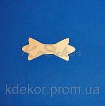 Бабочка-галстук №17 заготовка для декупажа и декора