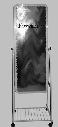 Зеркало узкое 32 черное, фото 2