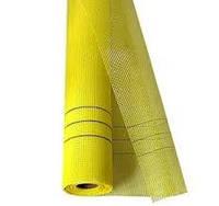 Сетка армированная фасадная 160г/м2  5*5мм (1м*50м) жёлтая Budmonster Prime