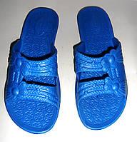 Женские сланцы ЕВА (синие), фото 1