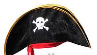 Пиратская шляпа ( велюр)