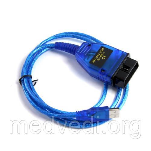 Диагностический автосканер USB KKL K-Line VAG-COM 409.1