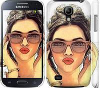 "Чехол на Samsung Galaxy S4 mini Duos GT i9192 Девушка_арт ""3005c-63"""