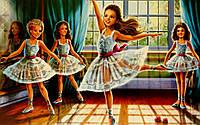 Пазл Castorland - Школа балета (Little Ballerinas)