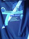 Стильный батник на мальчика синий 140-176 см, фото 2