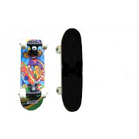 Мини скейтборд (роликовая доска) SK-1705PP (колесо-PVC, р-р деки 43х13см, 608Z, пластиков. подвес)