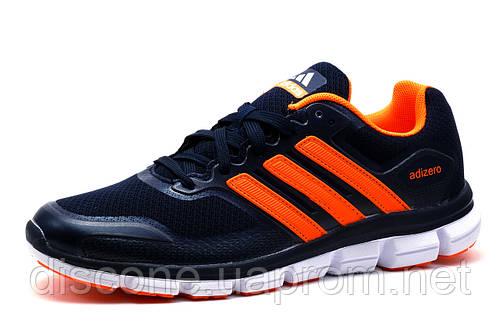 Мужские кроссовки  Adidas Adizero, темно-синие
