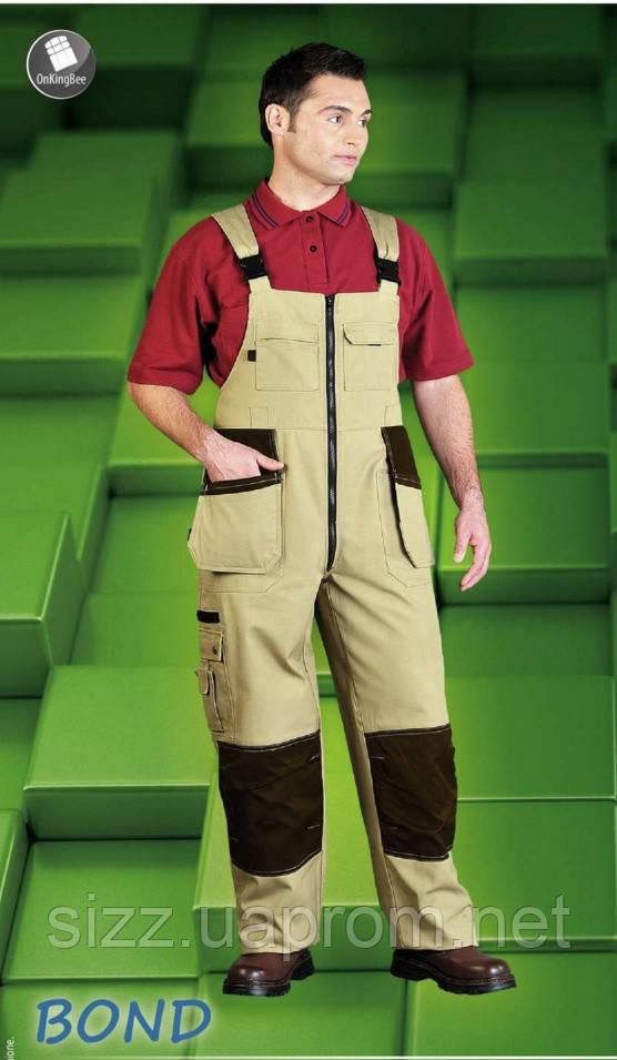 Полукомбинезон рабочий LH-ZIMER на широких шлейках , фото 1