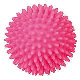 Игрушка для собак Trixie Мяч игольчатый с пищалкой, винил (цвета в ассортименте, фото 3