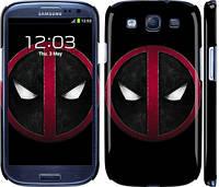 "Чехол на Samsung Galaxy S3 i9300 Дэдпул ""3405c-11"""