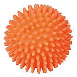 Игрушка для собак Trixie Мяч игольчатый с пищалкой, винил (цвета в ассортименте, фото 5