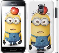 "Чехол на Samsung Galaxy S5 mini G800H Миньоны v10 ""2968c-44"""