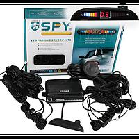 "Парктроник SPY LP-101-8/LP-010-8/LED/8 датчиков/""beeper""/коннектор/Black/black"