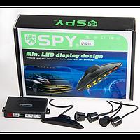 Парктроник SPY LP-113-1A/LED/4 датчика D=18mm/коннектор/black/black