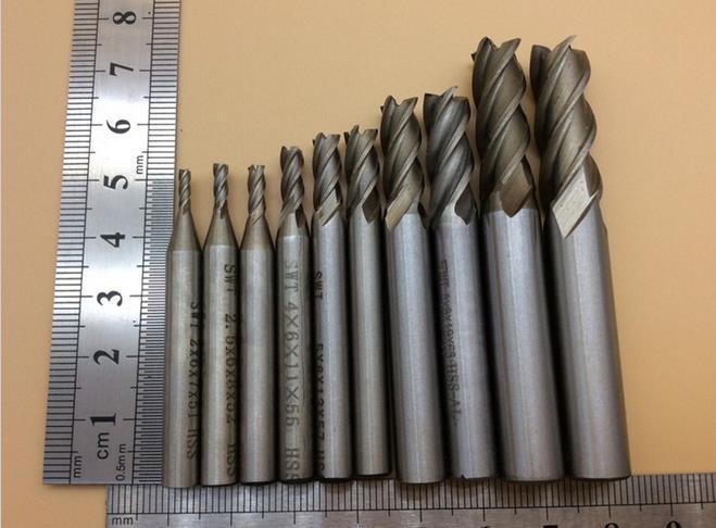 Диаметр фрез по металлу критерии затупления режущих инструментов