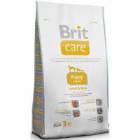 Brit Care Puppy All Breed Lamb & Rice - Брит корм для щенков всех пород (ягненок с рисом) 3 кг
